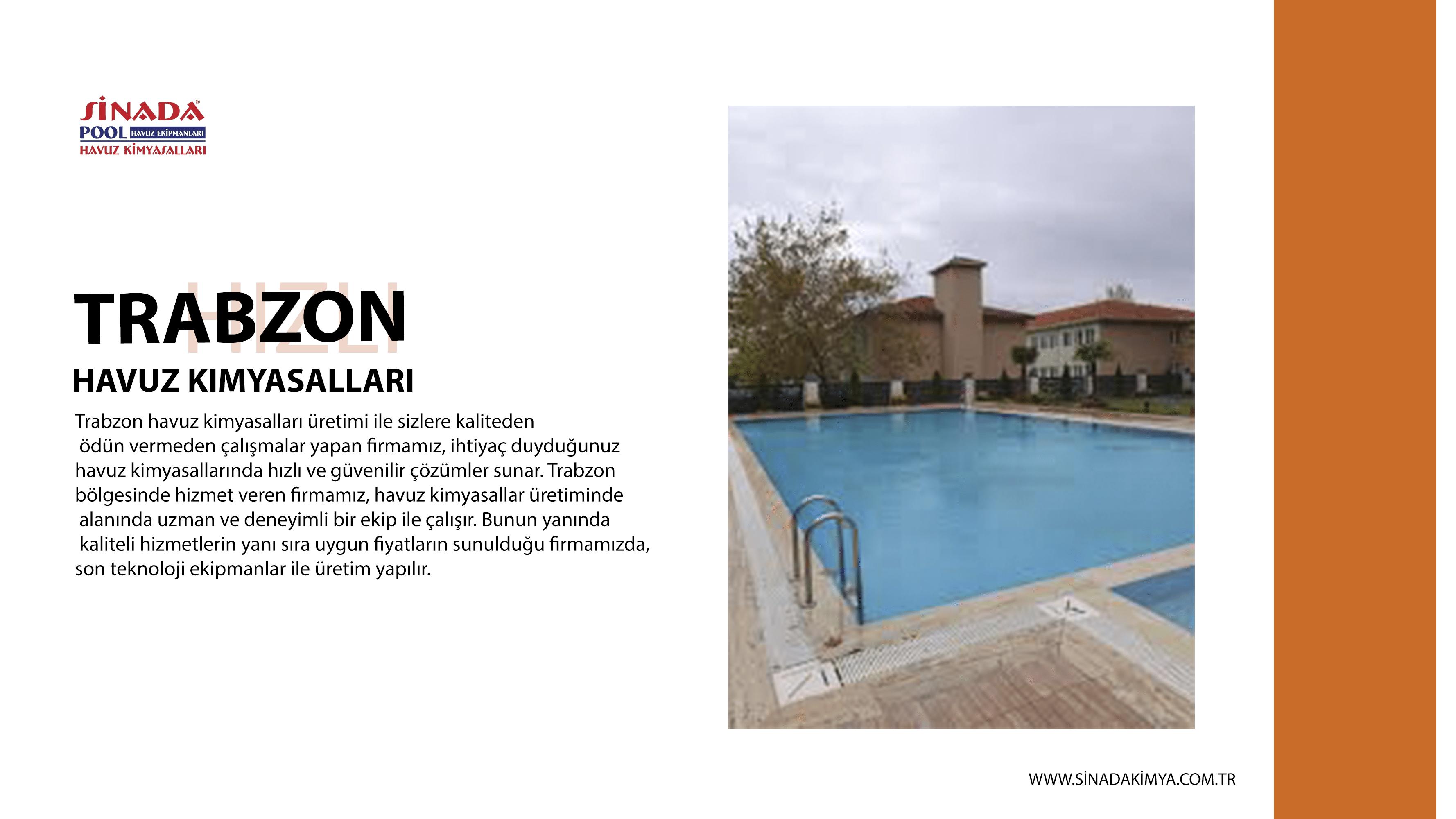 Trabzon Havuz Kimyasalları