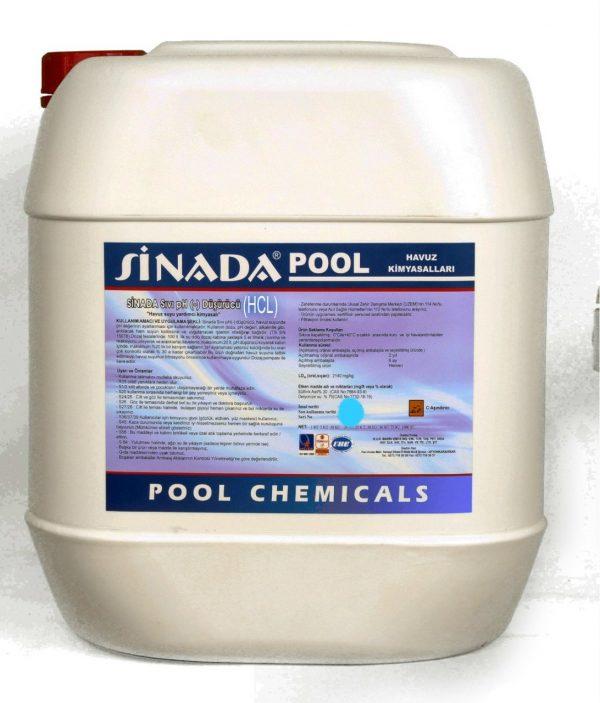 Havuz Temizlik Asiti 25 kg Havuz Kimyasalı
