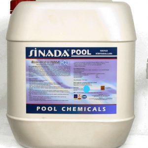 Sıvı Asit (HCL) Taş Asiti 25 kg Havuz Kimyasalı